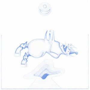 DEVENDRA BANHART Ape in Pink Marble (sq)